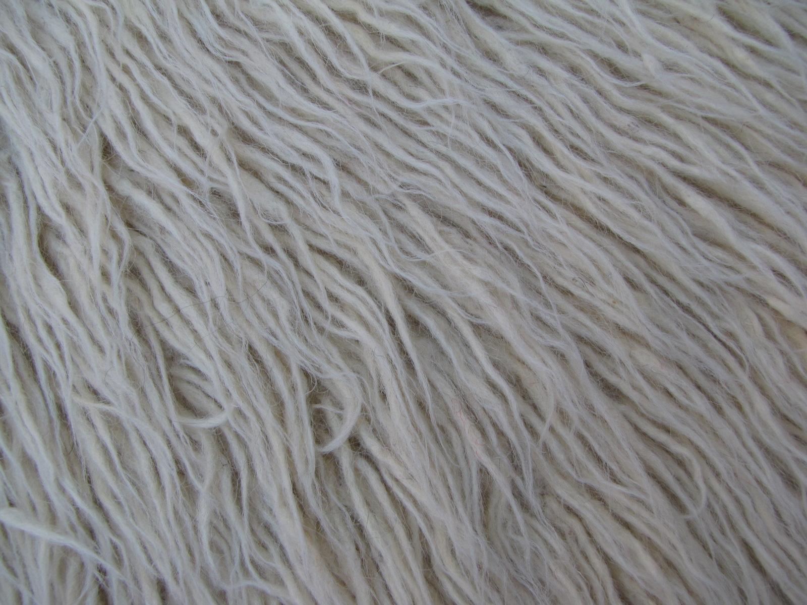 White Vintage Tulu Rug 4 6 X 7 2