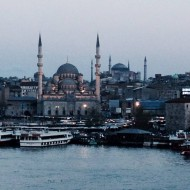 New Mosque and Hagia Sophia