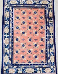 Antique Chinise Ningxia rug