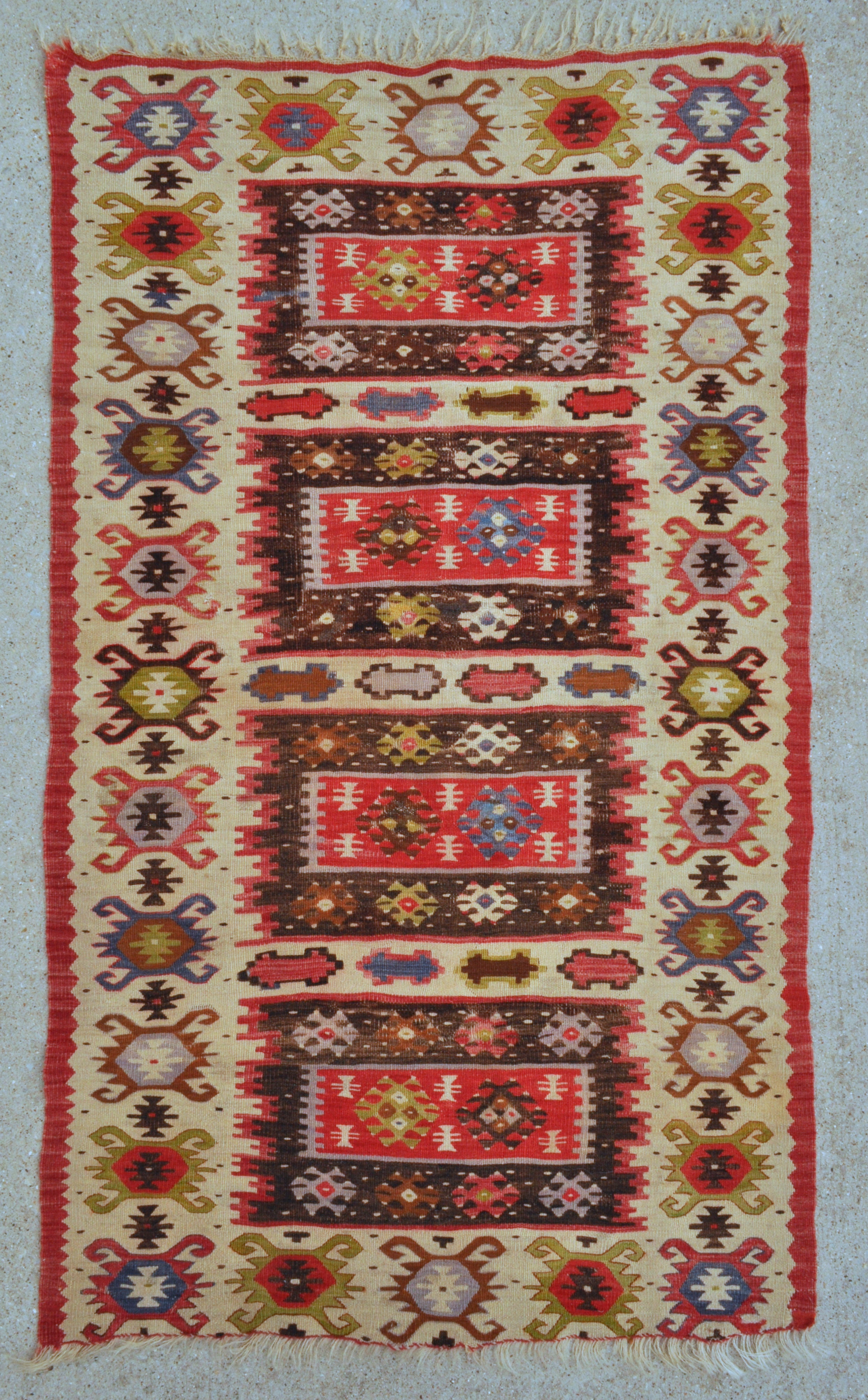 kilim authentic patterns rug colors muted small soft artful rugs il old abstract vintage p turkish fullxfull wall