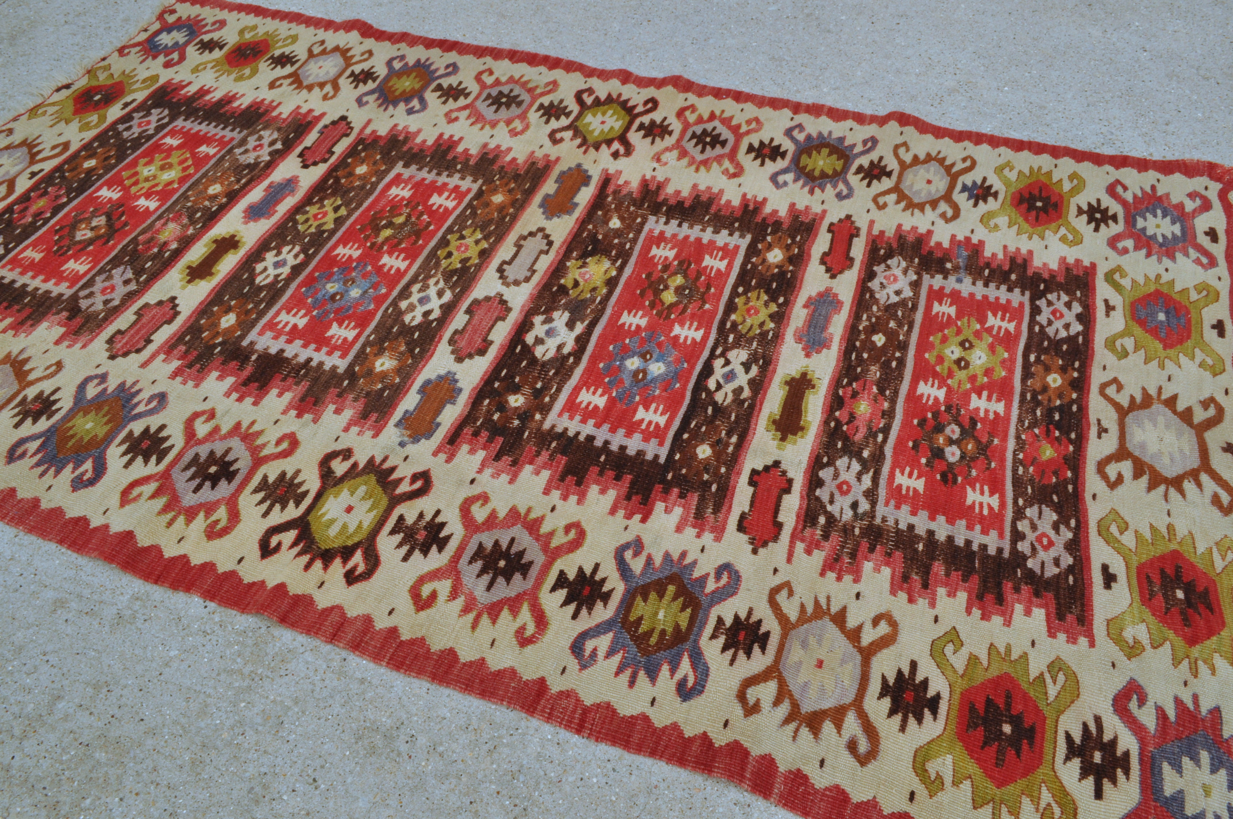 rugs shaped x antique vintage rhombus store rug cm carpet kilim handmade turkish